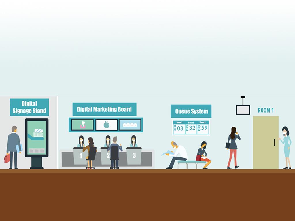Digital Signage cho Bệnh Viện